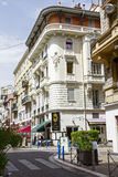 Palais Alice in Nice at rue de France Stock Photo