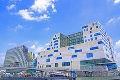 Palais Amsterdam de justice Images libres de droits