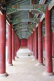 Palais antique en Corée images stock