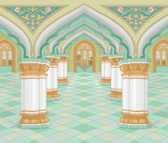 Palais arabe illustration stock