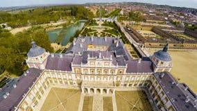 Palais Aranjuez, résidence de roi de l'Espagne image libre de droits