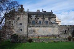 Palais au château de Stirling Images libres de droits