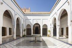 Palais Bahia w Marraketech Fotografia Royalty Free