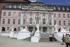Palais baroque dans le Trier Photos libres de droits