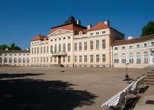 Palais baroque (Rogalin, Pologne) Images libres de droits
