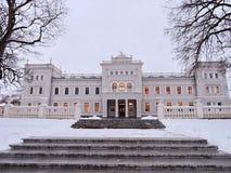 Palais blanc, Lithuanie Photo libre de droits