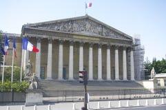 Palais Bourbon (asamblea nacional) Fotografía de archivo