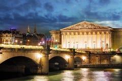 Palais Bourbon - Francuski parlament, Paryż, Assemblee Nationale obrazy stock