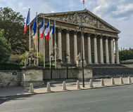 Palais Bourbon of the French National Assembly Royalty Free Stock Photos