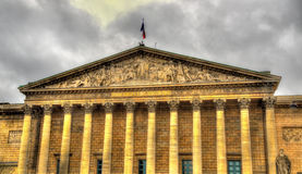 Palais Bourbon - National Assembly of France Stock Photography