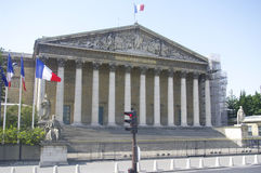 Palais Bourbon (Nationalversammlung) stockfotografie