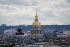 Palais Bourbon, Paris, Les Invalides, sky, city, landmark, urban area. Palais Bourbon, Paris, Les Invalides is sky, urban area and daytime. That marvel has city Stock Photography
