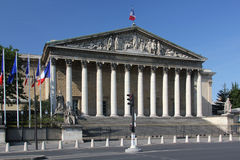 Palais Bourbon, Paris Royalty Free Stock Images