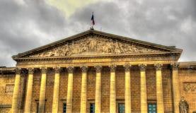 Palais Bourbon - zgromadzenie narodowe Francja fotografia stock