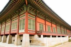 Palais coréen Images libres de droits