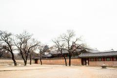 Palais coréen Photos stock
