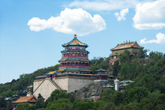 Palais d'été à Pékin Photos libres de droits