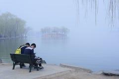 Palais d'été, Pékin, Chine Photographie stock