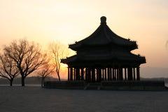 Palais d'été - pavillon de Kuoru Photos stock