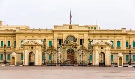 Palais d'Abdeen, une résidence du président de l'Egypte photographie stock libre de droits