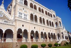 Palais d'Aga Khan, Pune, maharashtra, Inde photographie stock
