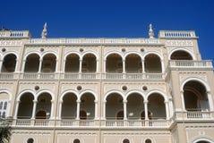 Palais d'Aga Khan, Pune, maharashtra, Inde Image stock