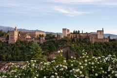 palais d'alhambra Image libre de droits