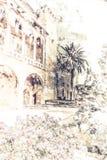 Palais d'Almudaina illustration de vecteur