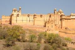 Palais d'Amer, Jaipur, Inde Photos libres de droits