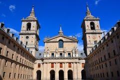 Palais d'EL Escorial, Espagne image libre de droits