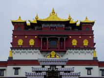 Palais d'empreintes digitales de Buddhas cinq Image libre de droits