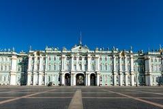 Palais d'hiver, musée d'ermitage dans le St Petersbourg Photo stock