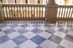 Palais d'intérieur, Alcazar De Toledo, Espagne Photos libres de droits