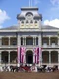 'Palais d'Iolani Photographie stock libre de droits