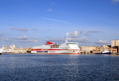 Palais d'Olympia de bateau de croisière Images stock