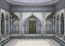 palais d'Oriental de l'illustration 3d illustration stock