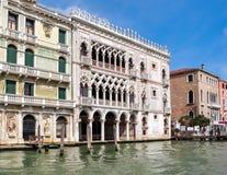 Palais d'Oro de ` de Ca d, Venise, Italie images stock