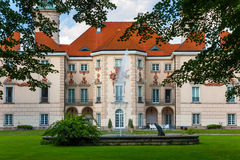 Palais d'Otwock Wielki, Pologne Photographie stock