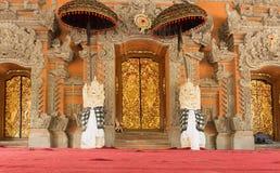 Palais d'Ubud, Bali - à l'intérieur du palais d'Ubud, Bali, Indonésie images libres de droits