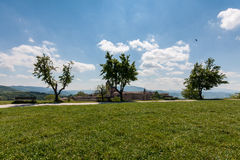 Palais d'Urbino en Italie image libre de droits