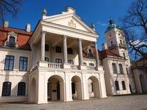 Palais dans Kozlowka, Pologne Photographie stock libre de droits