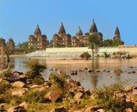 Palais dans Orcha Inde Photo stock