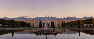 Palais dans Peterhof Image libre de droits
