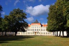 Palais dans Rogalin. image libre de droits
