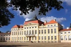 Palais dans Rogalin. image stock