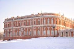 Palais dans Tsaritsyno Photographie stock libre de droits