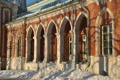 Palais dans Tsaritsyno Photographie stock