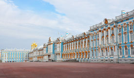 Palais dans Tsarskoye Selo photographie stock libre de droits