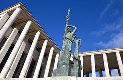 Palais de东京在巴黎 免版税库存图片