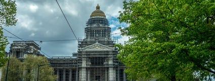 Palais de Правосудие (дворец правосудия) на Брюсселе, Бельгии Стоковые Фото